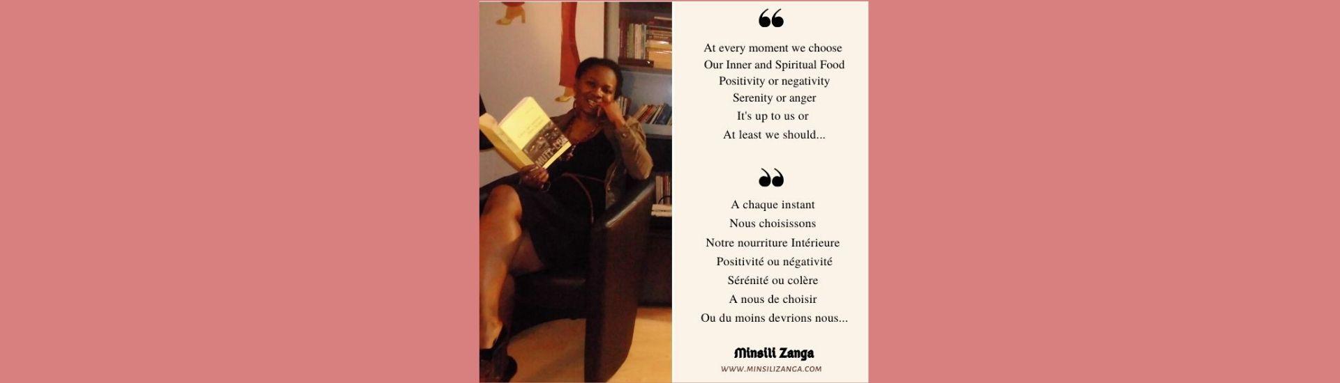 Réflexion sur la tranquillité - Minsili ZANGA