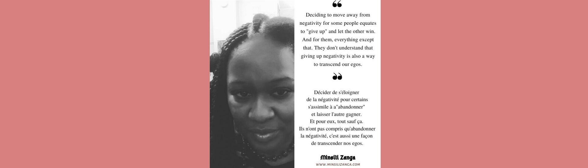 De la tranquillité d'esprit - 3 (Minsili ZANGA)
