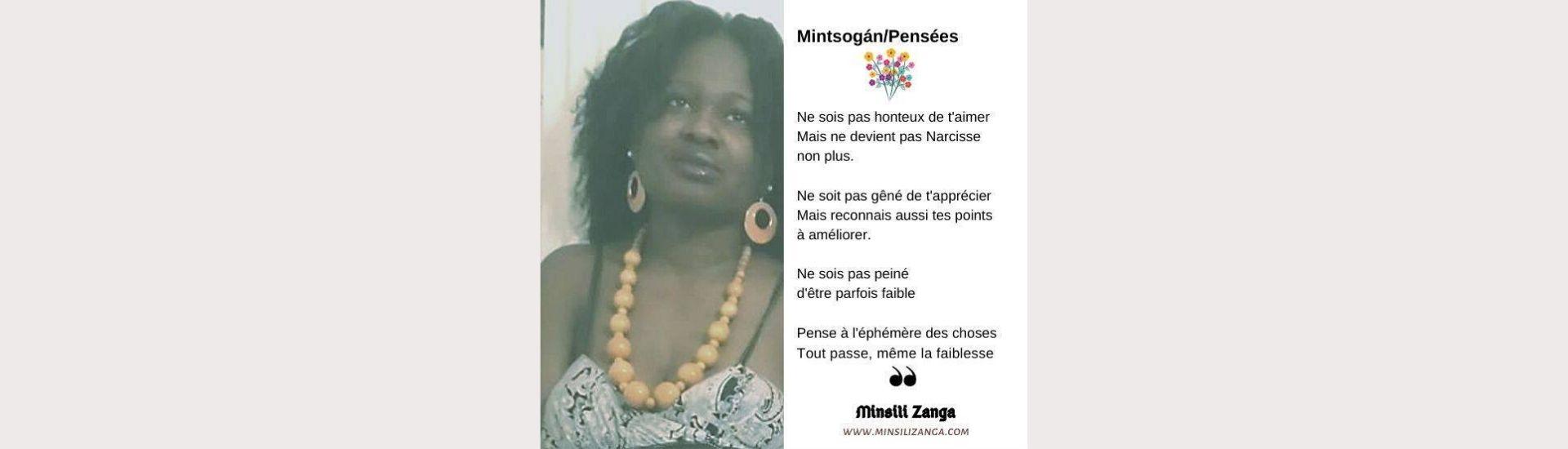 Minsili Zanga Poésie : amour de soi