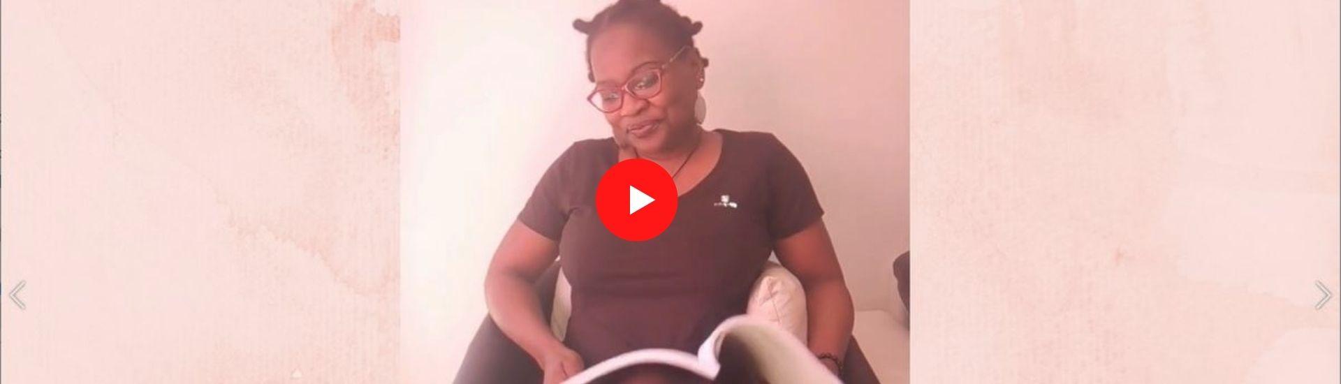 Minsili Zanga - Lecture poétique Ewondo-Français (vidéo)