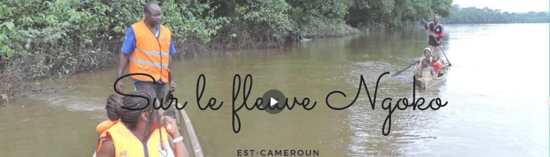 Sur les bords du fleuve Ngoko (Cameroun) - Minsili ZANGA