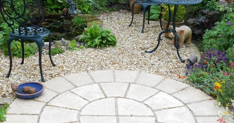 how to make a patio on a budget
