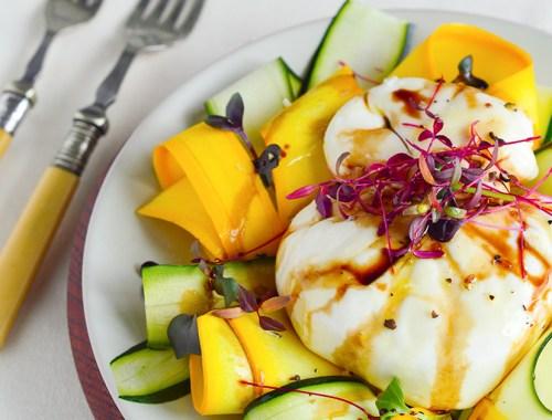burrata-zucchini-salad
