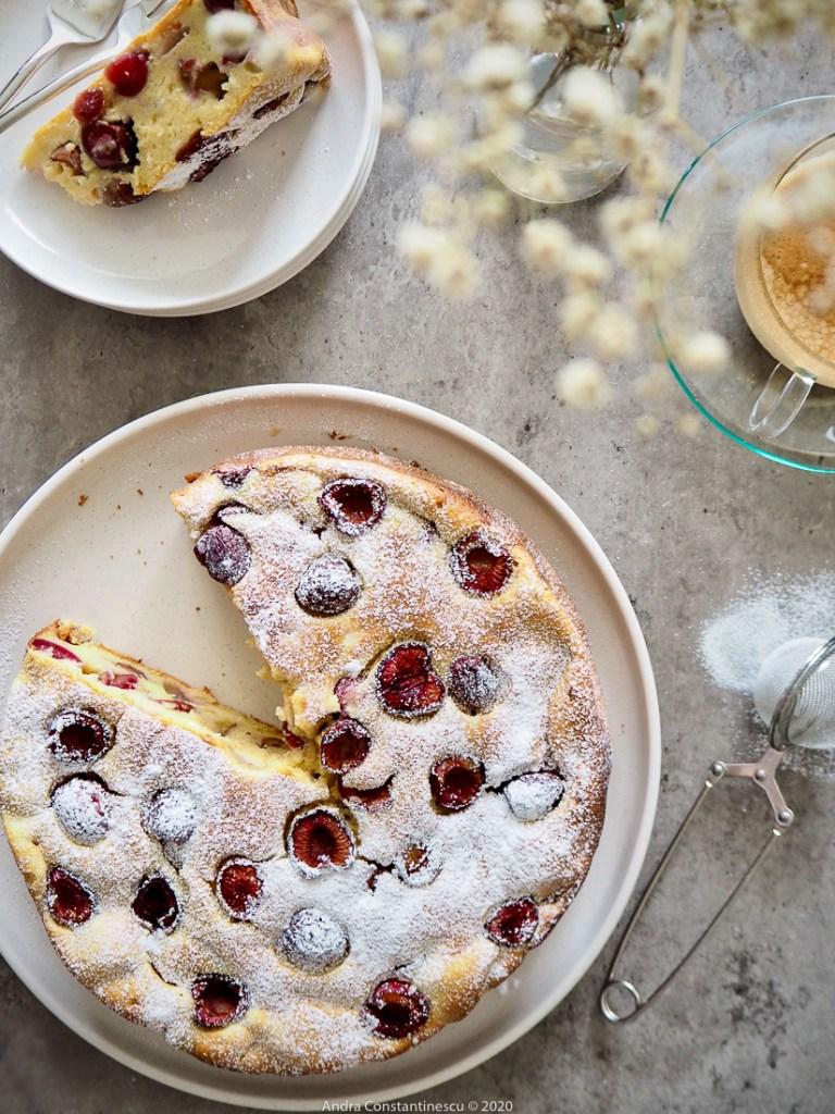 cherry and ricotta cake recipe