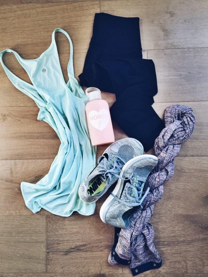 mint arrow workout faves