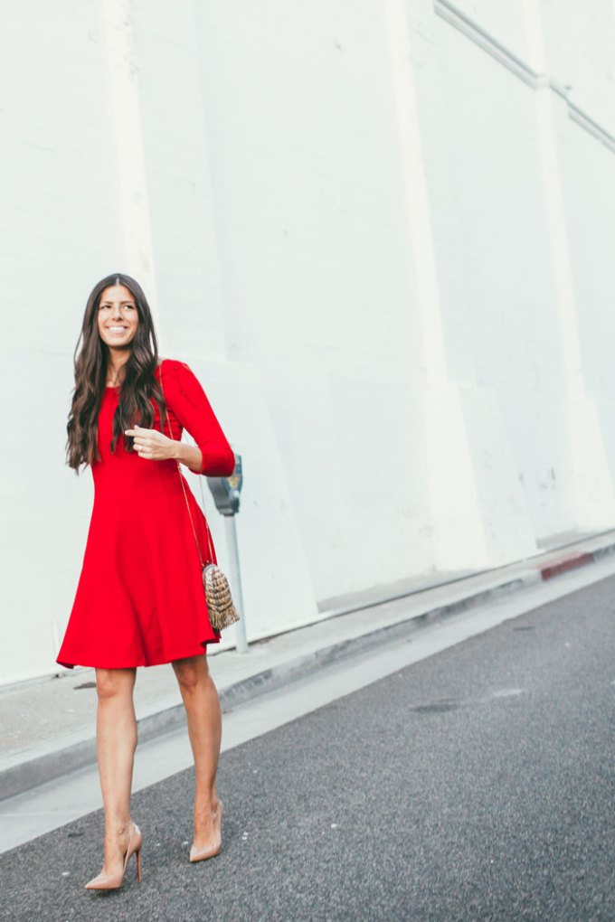 anthropologie-red-dress