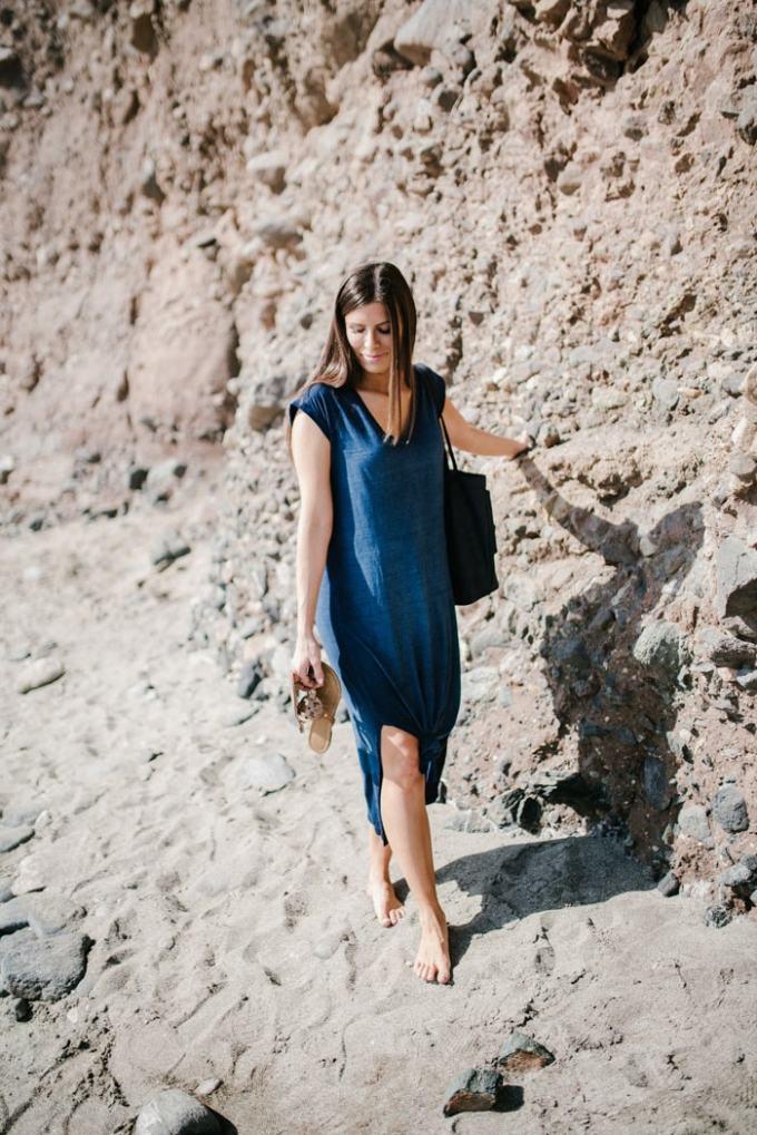 cutest chambray dress!
