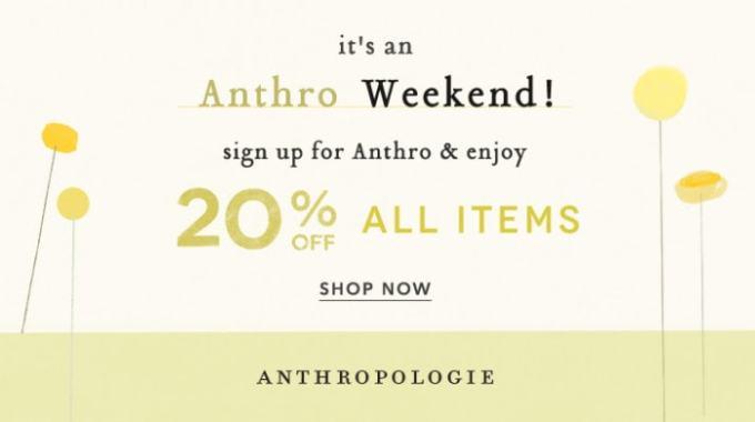 anthro weekend!
