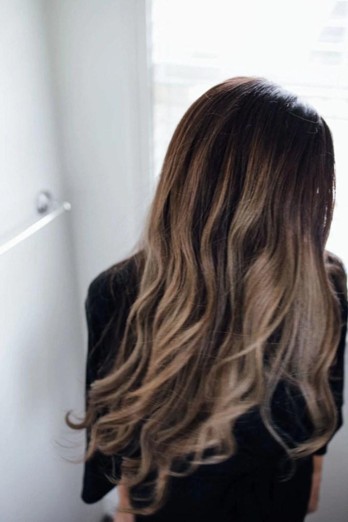 Fresh Washed Hair