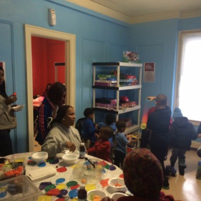 Child care at Coalition on Temporary Shelter