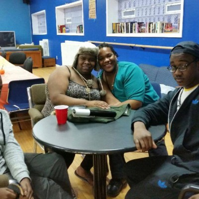Youth hang out at the Ruth Ellis Center in Highland Park.