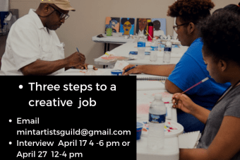 Summer jobs for creative youth