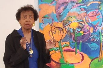 The importance of drawing and multiple works at once: Shirley Woodson's advice