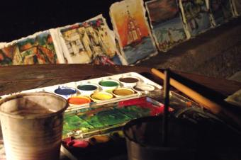 Poetry, painting portfolio: More creative activities