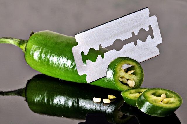 カミソリの刃