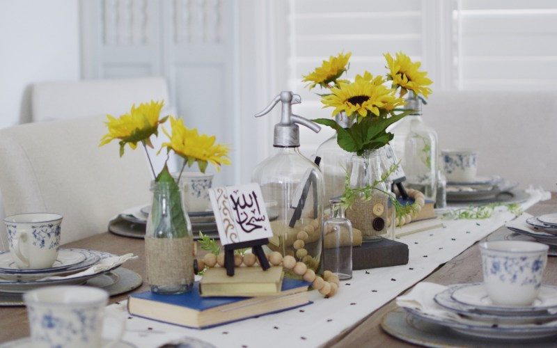 Summer Inspired Eid Tablescape