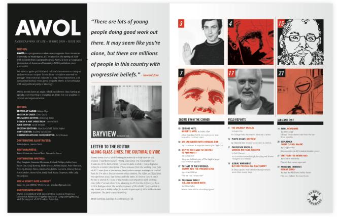 Taich AWOL Magazine Spread Julep