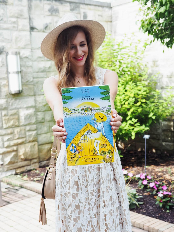 loccitane summer treasures gift set travel sized