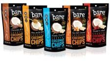 bareT Crunchy Coconut Chips - Group Shot