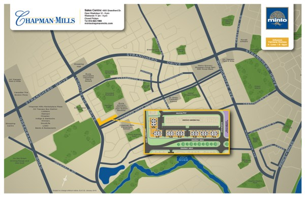 Chapman Mills - Community Plan - New Homes In Barrhaven ...