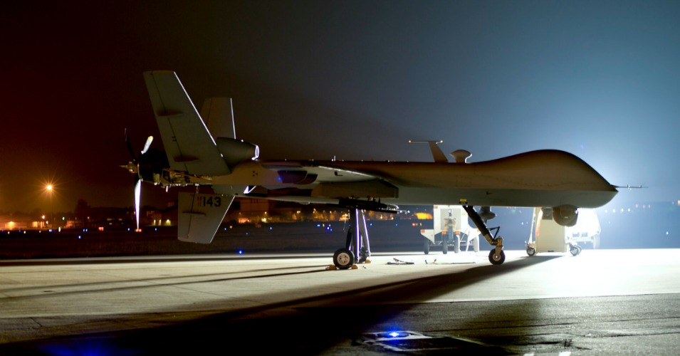 An MQ 9 Reaper drone. A new poll shows most Americans support U.S. drone strikes on American citizens. (Photo: USAF)