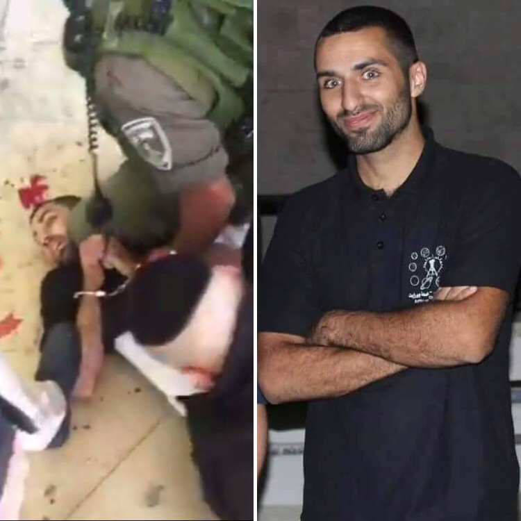 The arrest and subsequent beating og Omar Farouk Obaideya, a teaching assistant in the Physics Department at Birzeit University.
