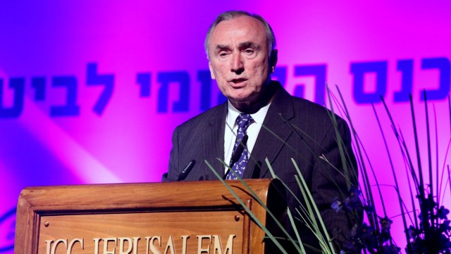 Former New York City Police Commissioner William Bratton Speaks at The First National Personal Security Conference in Israel, 2014.