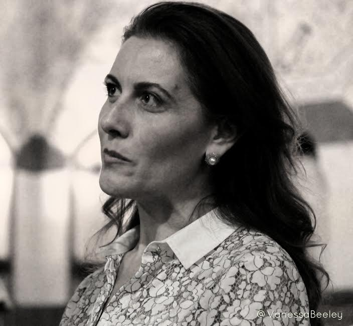 Maria Saadeh, a member of the Syrian parliament, in Damascus on Aug 22. (Photo by Vanessa Beeley)
