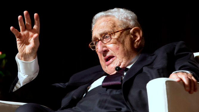 Image result for henry kissinger talks about Pres. Trump