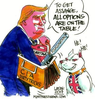 Afbeeldingsresultaat voor trump wikileaks cartoon
