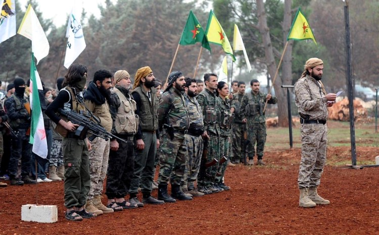 The loosely-knit coalition of Syrian rebel groups known as the Syrian Democratic Forces (SDF), are armed, trained and backed by the U.S. The group is currently engaged in the early stages of battle in the ISIS stronghold of Raqqa, Syria.