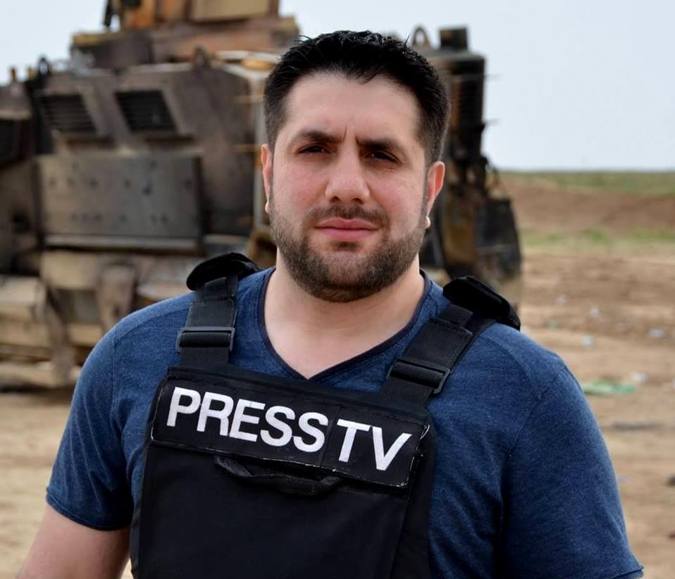Ali Musawi, Press TV War Correspondent, stationed in Erbil, Iraq. (Photo: Facebook/Ali Musawi)