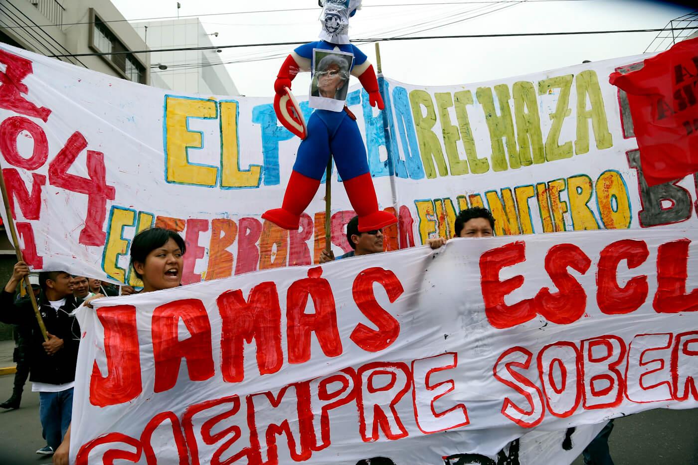 FMI del Banco Mundial | Protesta