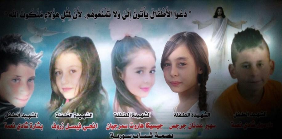 Afbeeldingsresultaat voor christelijke kinderen in mhardeh gedood