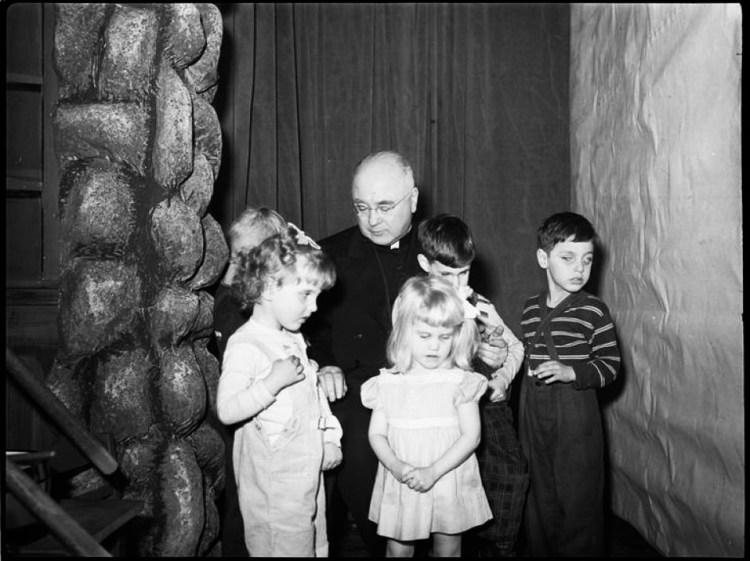 Francis Spellman Roy Cohn