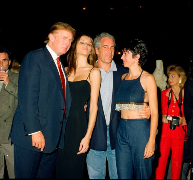 Trump Epstein Maxwell Mega Group