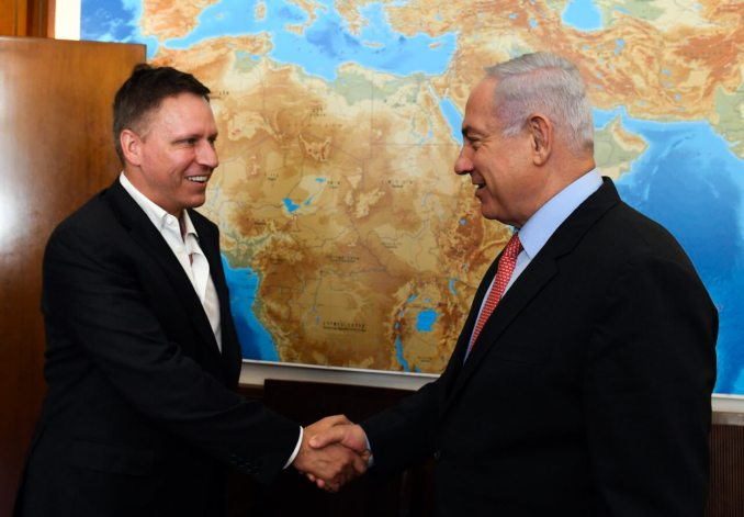 Peter Thiel Netanyahu