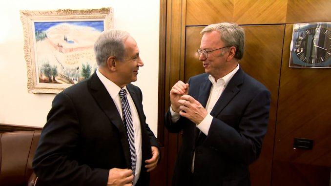 Netanyahu Eric Schmidt
