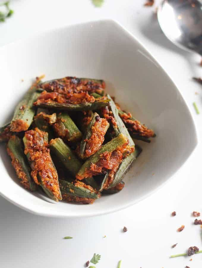 How To Make Bharwa Bhindi