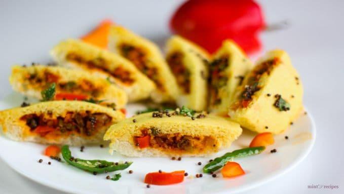 bread dhokla sandwich recipe bigsmall