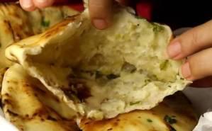 Cheese Garlic Kulcha