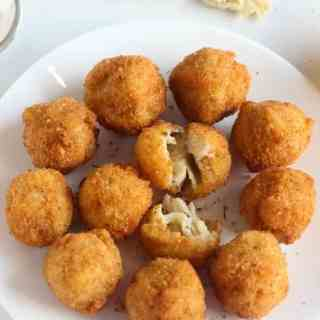 Macaroni Cheese Balls Pinterest
