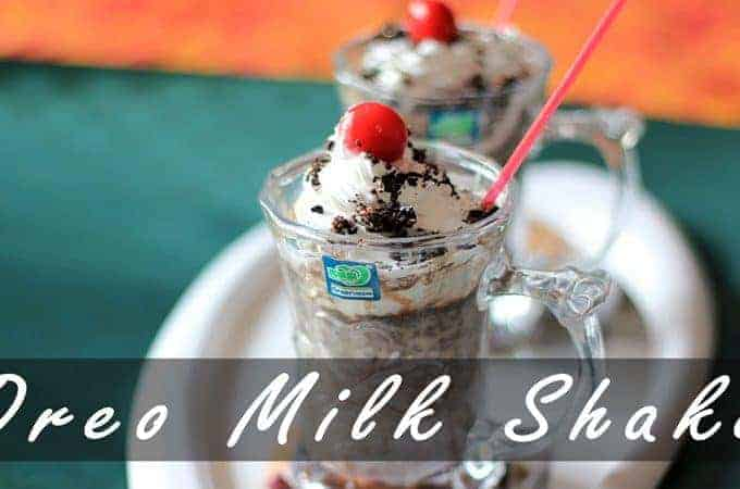 HowTo Make Oreo Milkshake Recipe