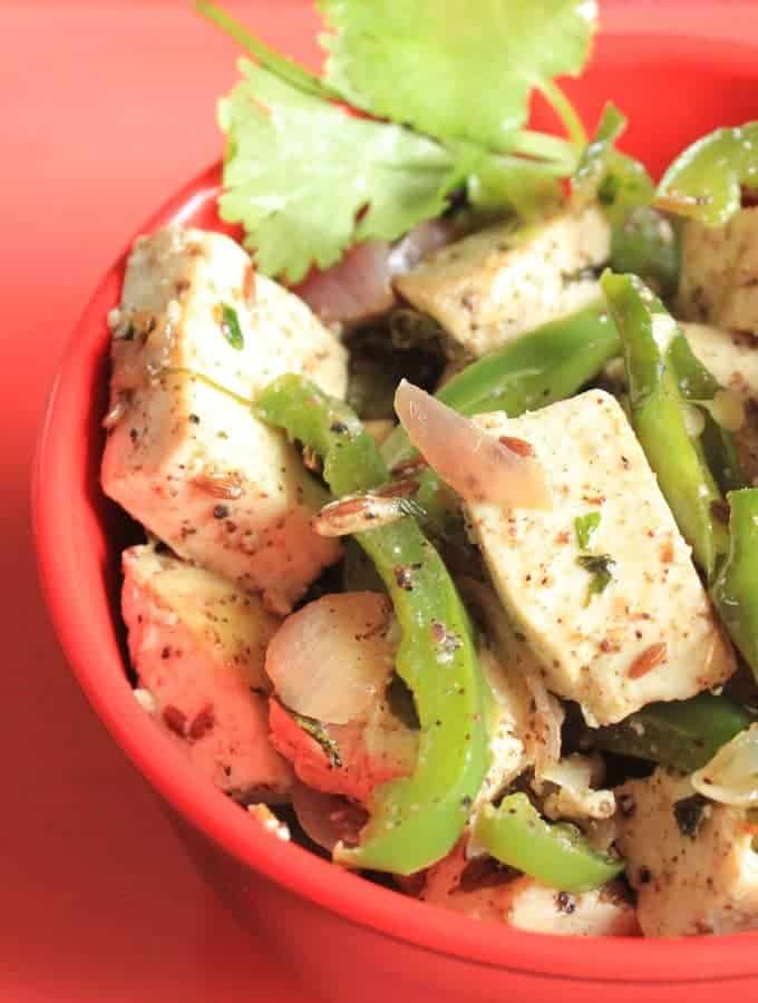 Paneer Capsicum Sabji Recipe In Hindi – Shimla Mirch