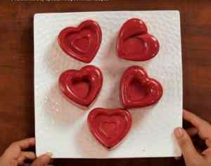 Chocolate Heart Cake Instructions