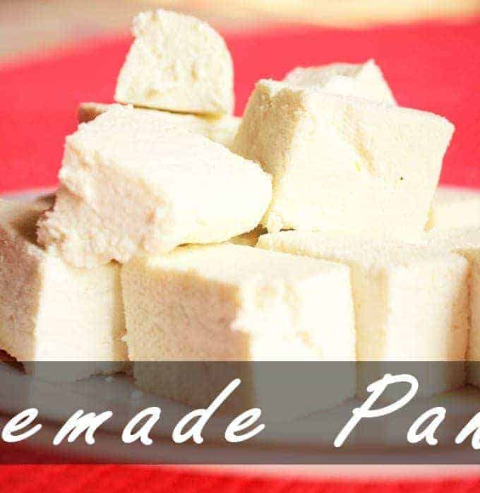 How to Make Paneer At Home – Homemade Paneer