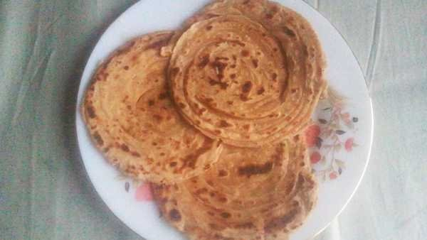 Lachcha Paratha recipe in hindi