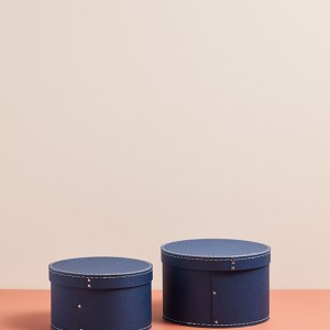 KidsConcept Oppbevaringsbokser - Mørk Blå