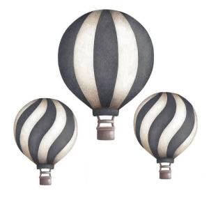 Stickstay dark blue vintage balloons set wallstickers
