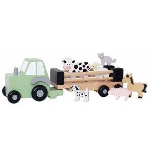 jabadabado traktor med dyr